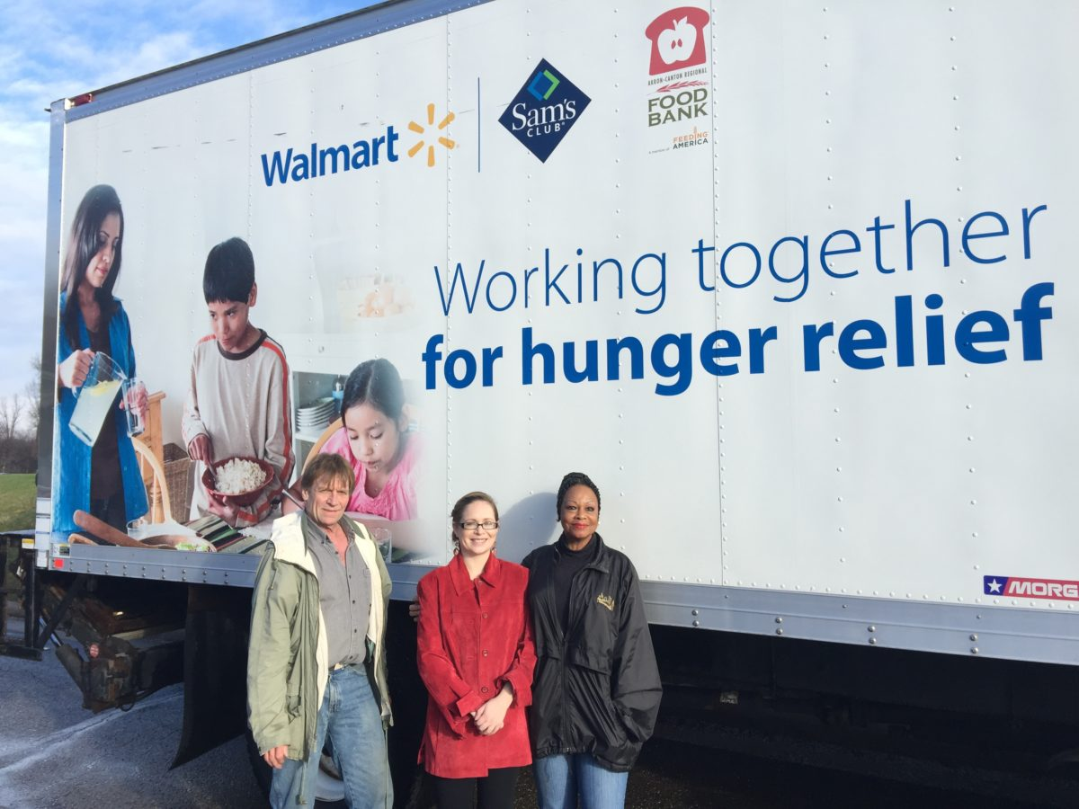 Millennium Employees Donate 1,943 Items to Foodbank This Christmas