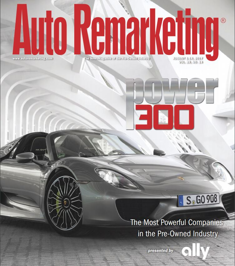 Millennium Capital and Recovery Corporation is named to the Auto Remarketing Power 300 2017